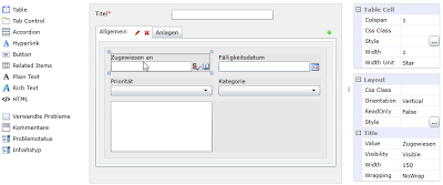 SharePoint custom form for German