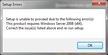 Install SharePoint Server 2010 on Windows 7 x64