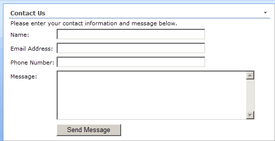 how to make a contact form send an email