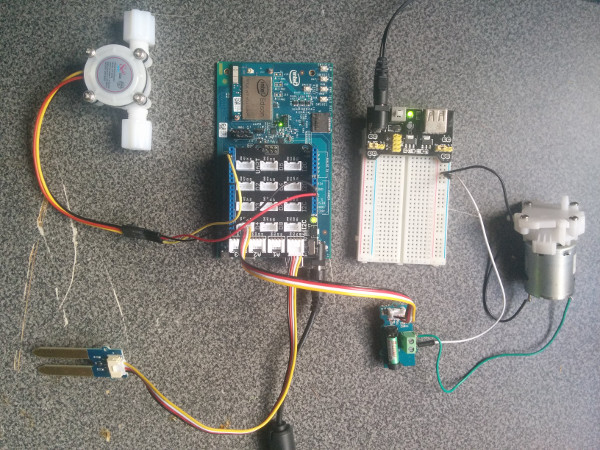 How-To Intel IoT Code Samples: Watering System