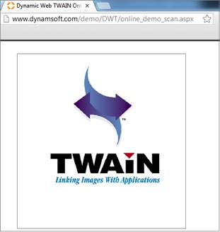 Dynamic Web TWAIN Demo App - Scan & Upload in ASP.NET