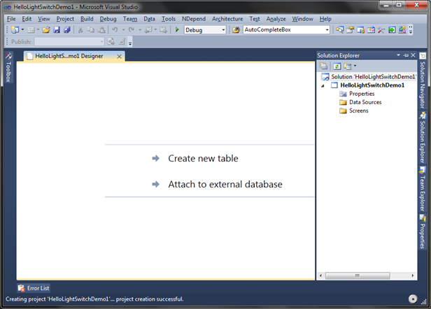 visual studio 2010 database project tutorial