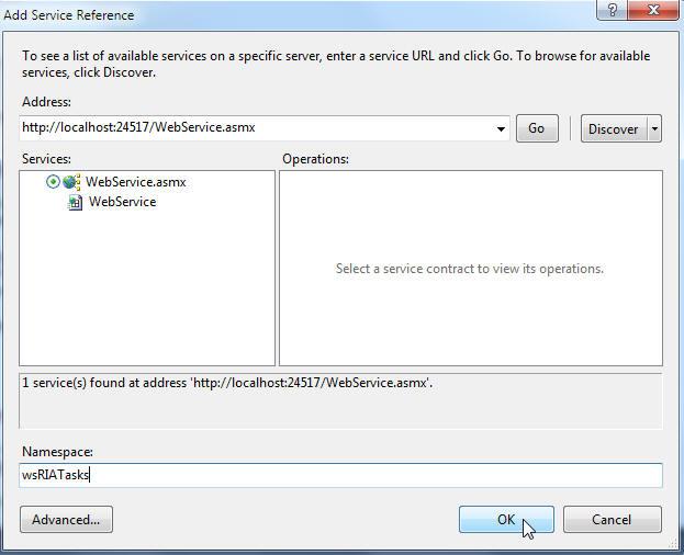 ع نقاشس با استفاده از دکمه RIATasks: یک مثال ساده از CRUD در Silverlight-قسمت چهارم ...