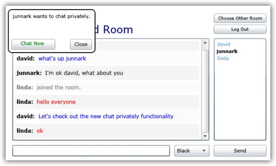 chat room yahoo messenger