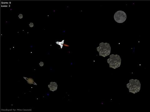 asteroid sprite wall - photo #6