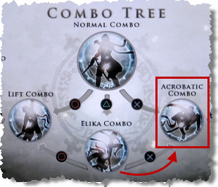 Combo Tree Screen