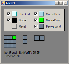 Screenshot of Btn9Form.cs when compiled and running