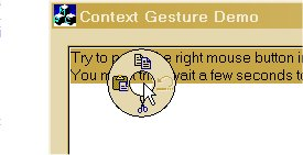 Radial Context Menu