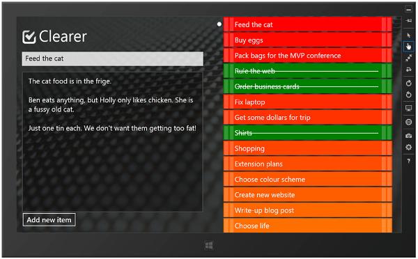 how to add to do list on desktop windows 8