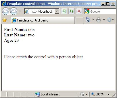 templated user control article image