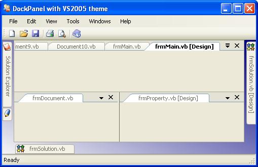 visual studio 2005 demo: