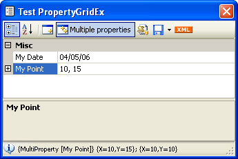 Multi object Properties