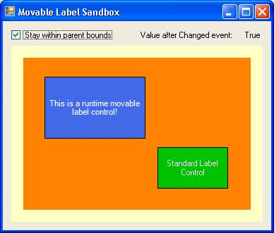 Control testing sandbox screenshot