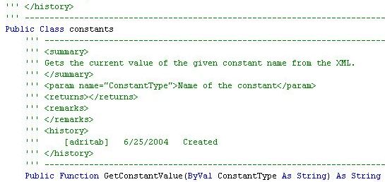 how to add comment line in xml file
