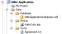 Killer Application content files