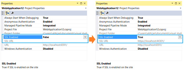 how to change default browser in visual studio 2013