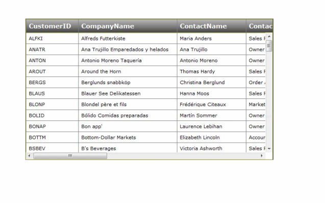 Html table scrollable 35 amazing jquery tables useful for Html table header
