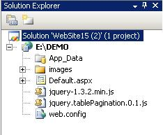 GridView Sorting and Paging using jquery ASP NET