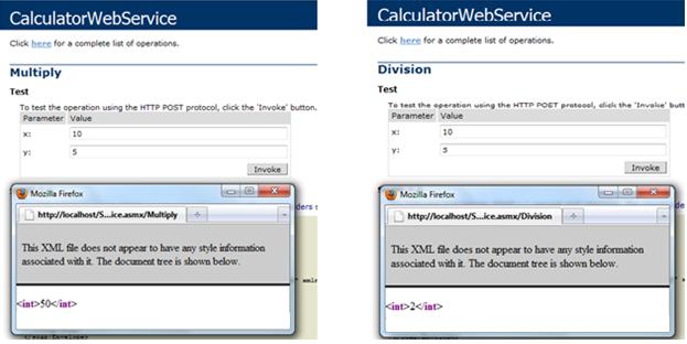 how to create asp net web service
