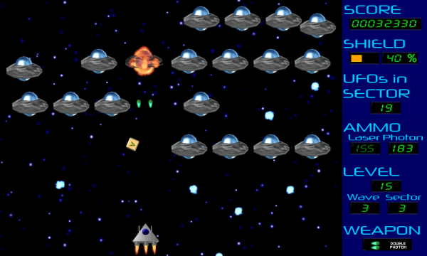Invasion Gameplay Screen Level 15