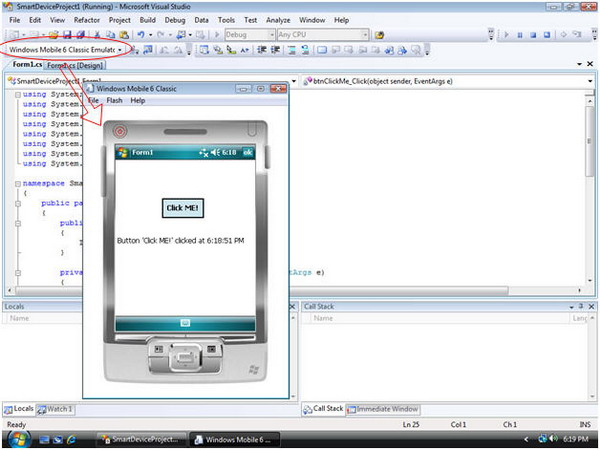 windows ce application manager