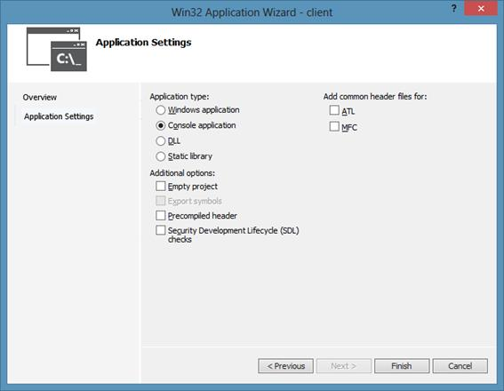 how to create windows service c