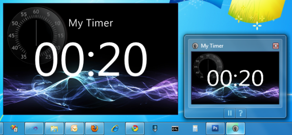 Timer preview