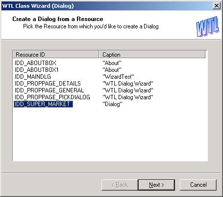Using the Dialog Wizard - Page 1