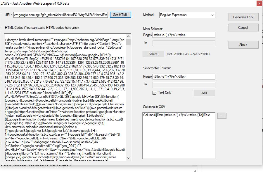 Web scraping using html agility pack part 1 loginworks.