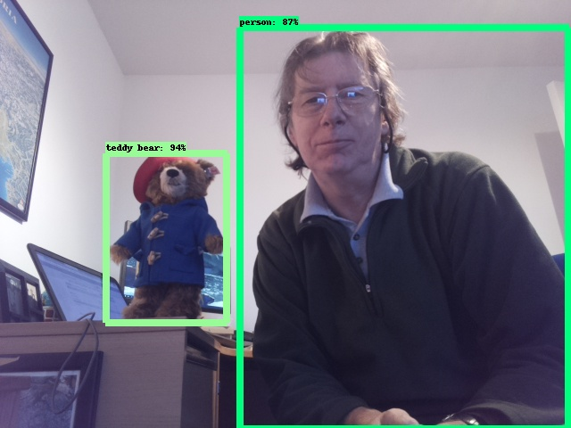 Adding Object Detection with TensorFlow to a Robotics Project