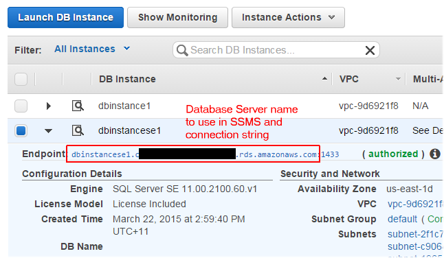 Amazon Web Services part 2 - Adding a database to your web