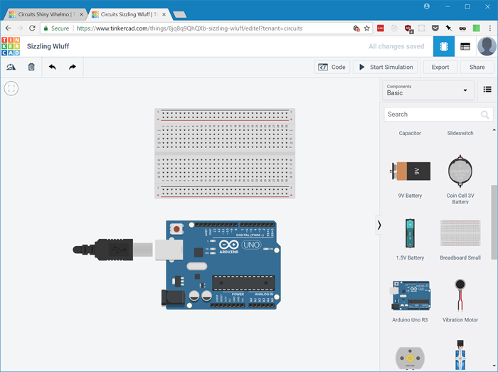 Connecting an Arduino to a Breadboard to light up LEDs using