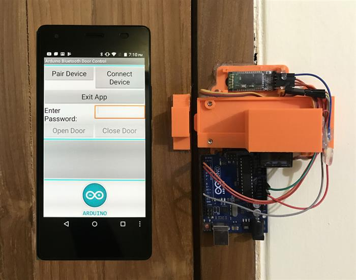 Bluetooth Control Password Protected Door Lock - CodeProject