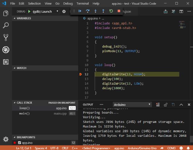 Creating and Debugging Arduino Programs in Visual Studio Code - Part
