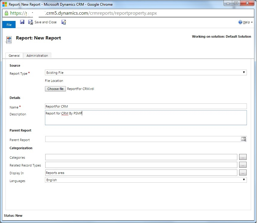 Creating a SSRS Report With Microsoft Dynamics CRM On-line - CodeProject