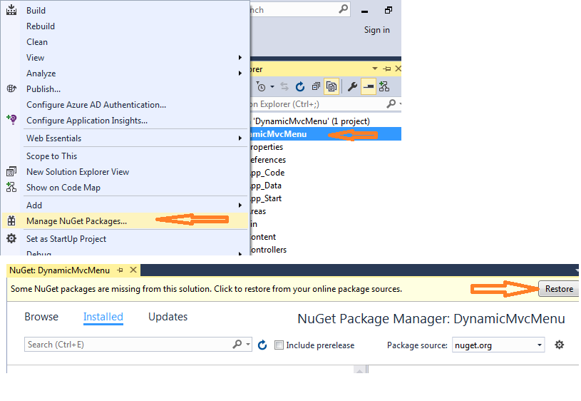 Auto Generate Menu from Controllers in ASP NET MVC - CodeProject