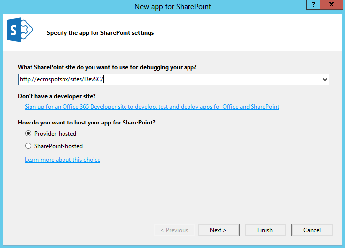 SharePoint 2013 Low-Trust Provider-Hosted Add-In Setup Guide ...