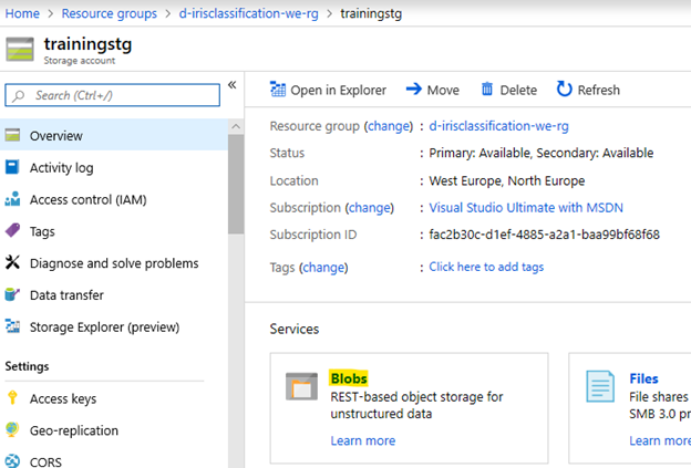 Writing an Azure Function for Object Classification - ContentLab