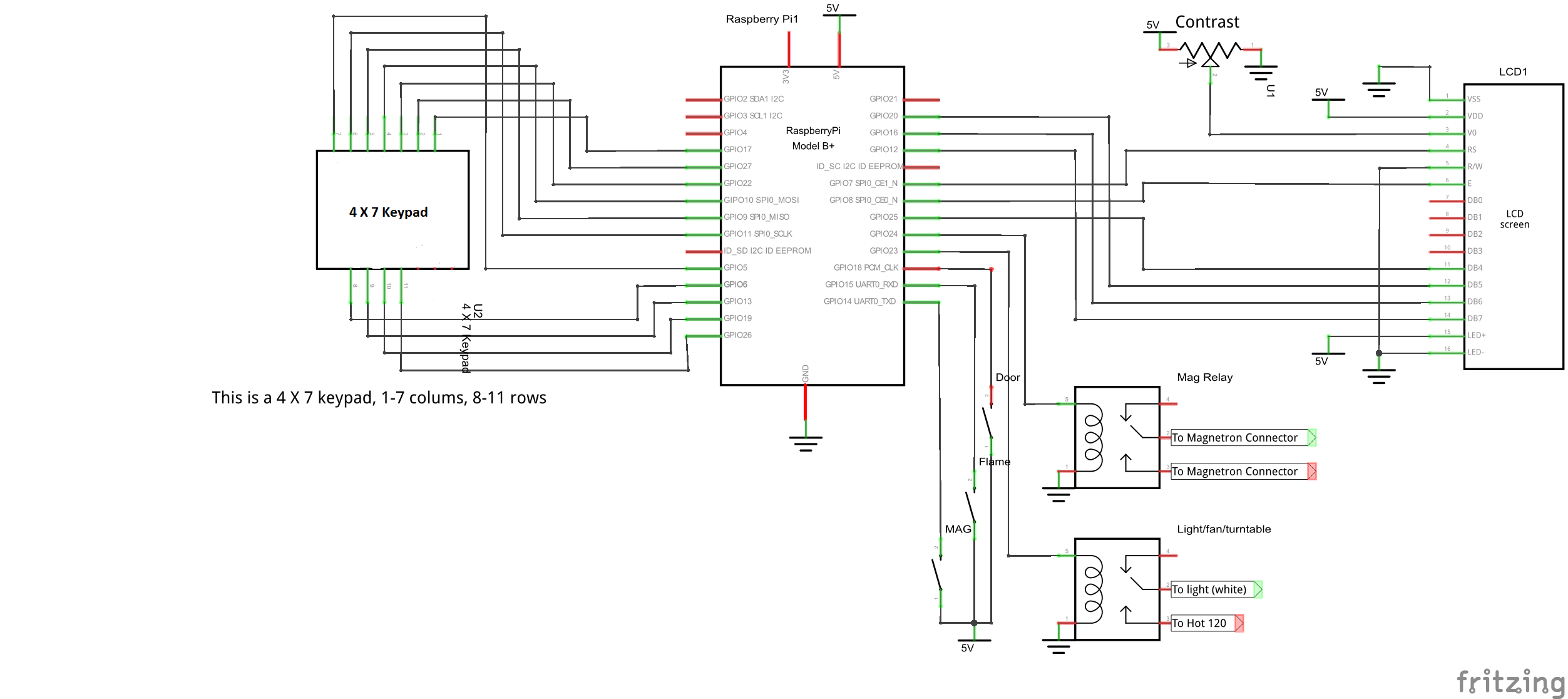 Iot Makes The Perfect Microwave Burrito Codeproject Turntable Wiring Diagram