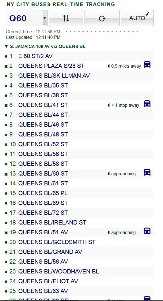 Enroute Real Time Ny City Bus Tracking Web App Codeproject