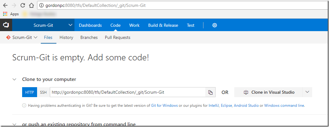 Bulk Import Git Repositories into VSTS/TFS - CodeProject