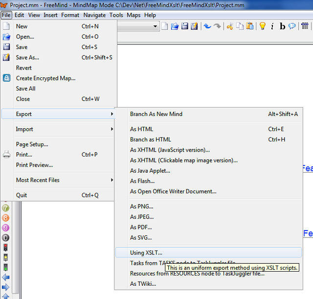 Converting Mind Map Plan Into An Excel Table Codeproject