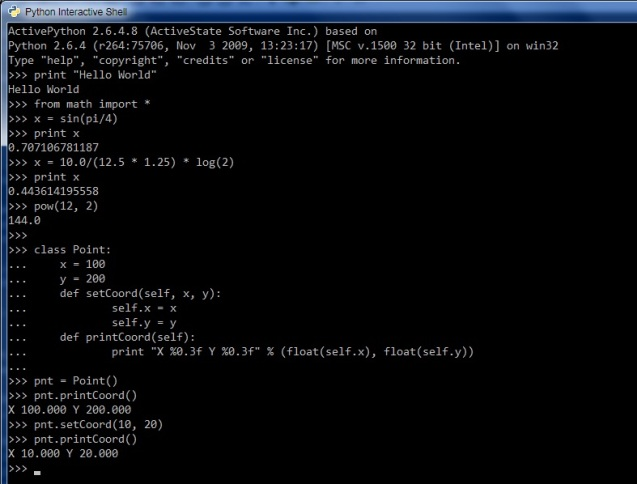 Using COM Objects in Scripting Languages -- Part 2 (Python