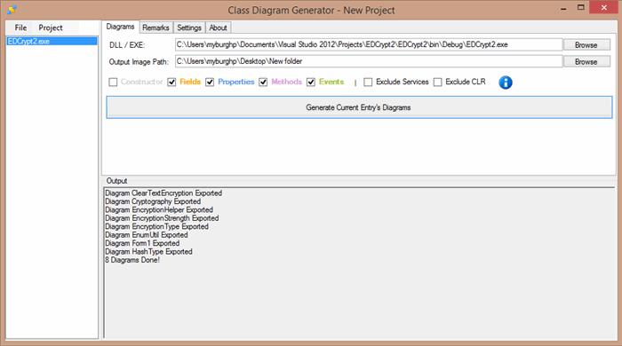 Class Diagram Generator - CodeProject