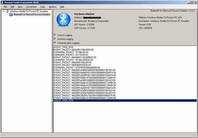 Bluetooth for Microsoft Device Emulator - CodeProject