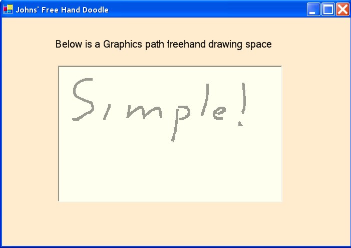 Drawing Lines Vb : A simple vb freehand drawing method codeproject