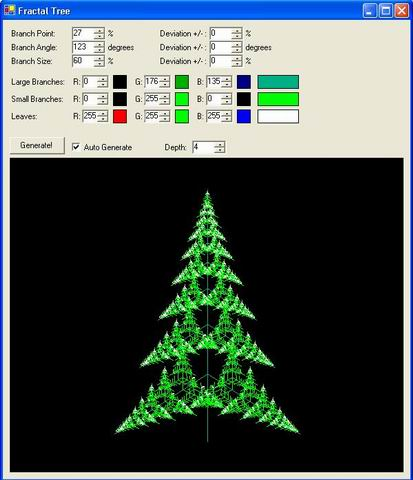 Create A Fractal Christmas Tree Codeproject