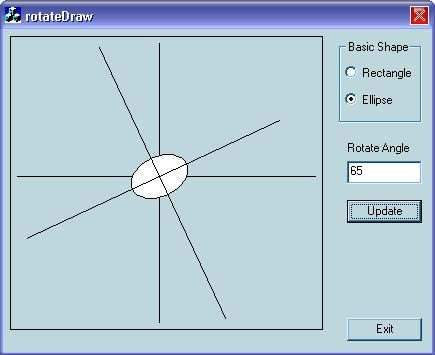 Using SetWorldTransform() to Rotate Basic Shapes by Any Angle
