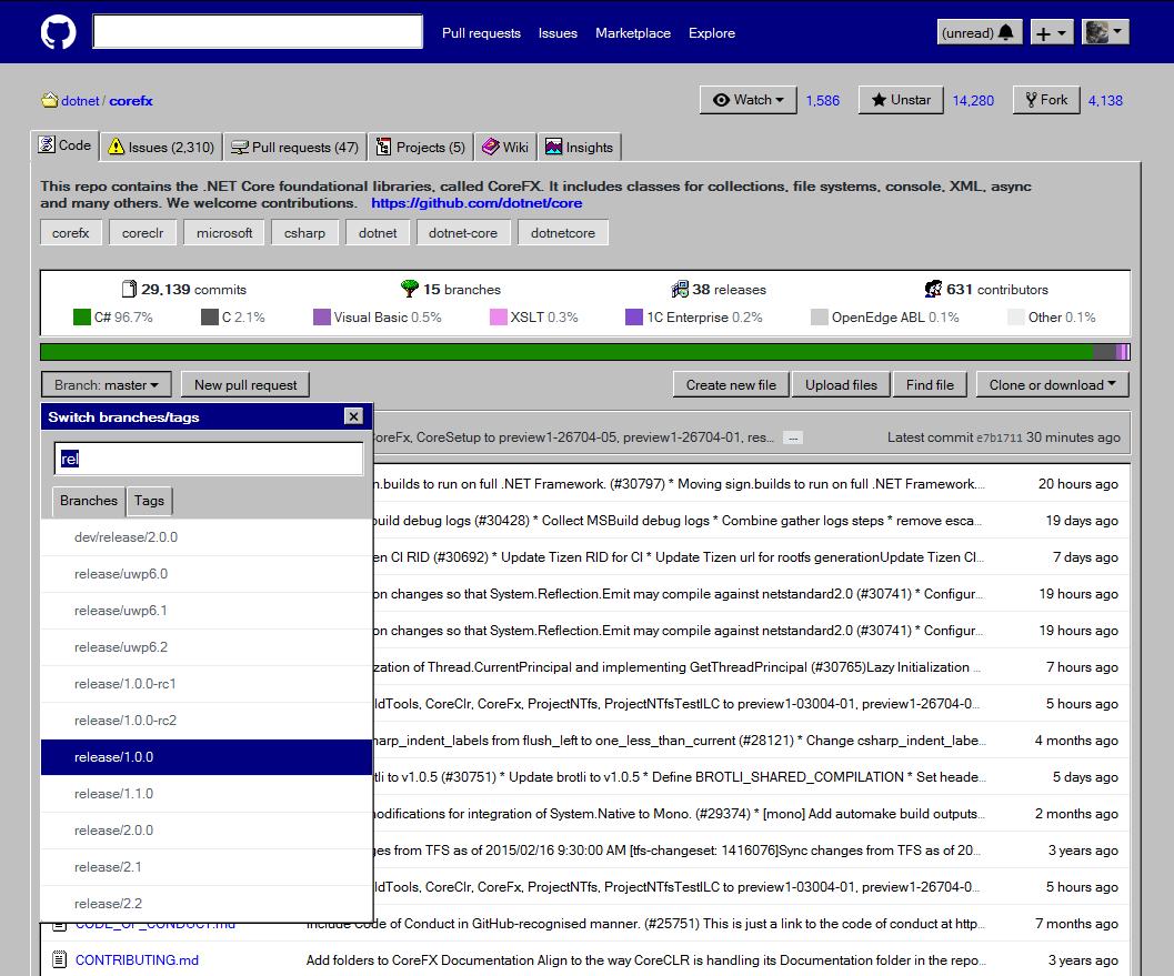 GitHub Windows Edition: transforming GitHub into Windows 95