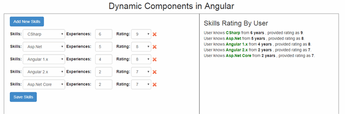 Dynamic Components in Angular with TypeScript - CodeProject